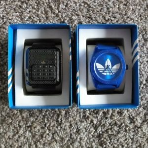 Adidas watches asking $65 for both